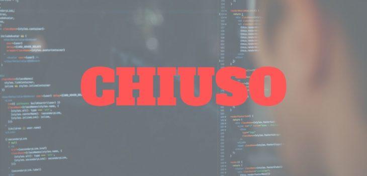 La ricerca Forma-x per web developer è chiusa