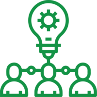 Simbolo competenze organizzative e comunicative